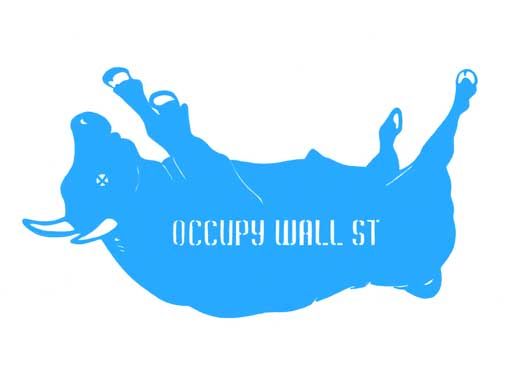 Occupy Wall Street – Falling Bull
