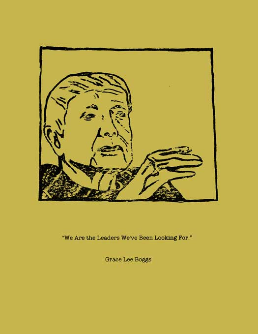 Grace Lee Boggs – drawing version