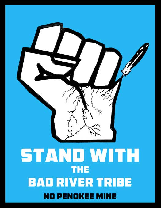 Stand with the Bad River Tribe