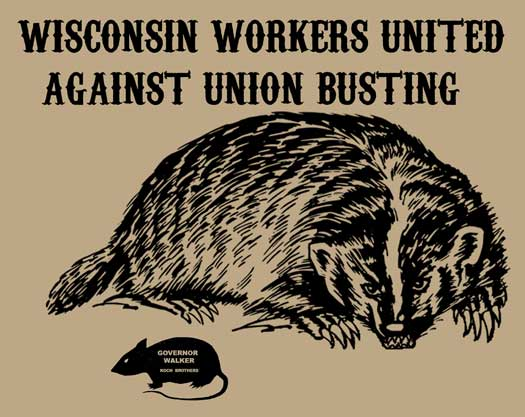 Wisconsin Workers United Against Union Busting