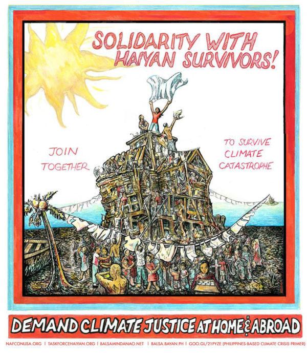 Haiyan Solidarity Poster