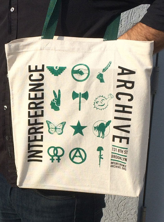 Interference Archive Tote Bag