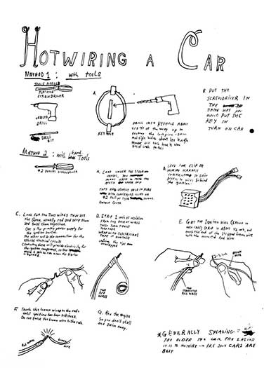Hotwiring a Car