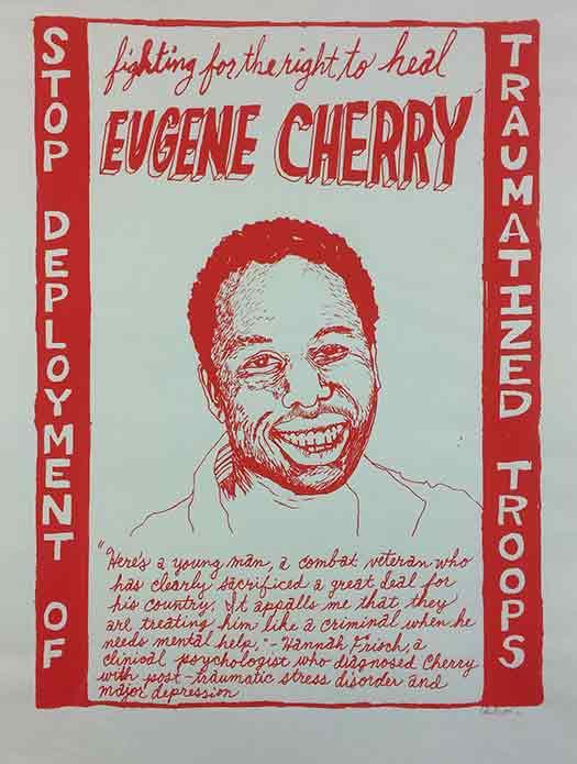 Eugene Cherry : War Resister