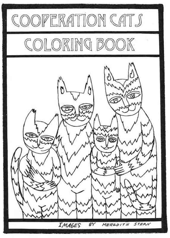 Cooperation Cats Coloring Book