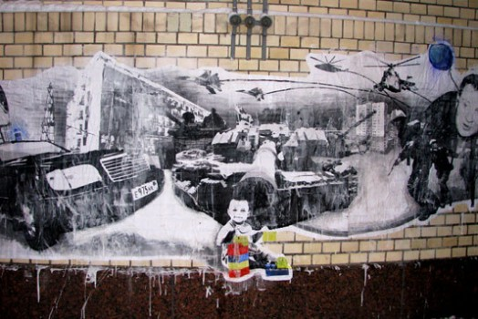 Interview with Anarchist Street Artists in Russia by Freya Powell