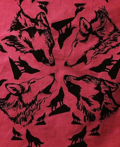 Wolf Hanky