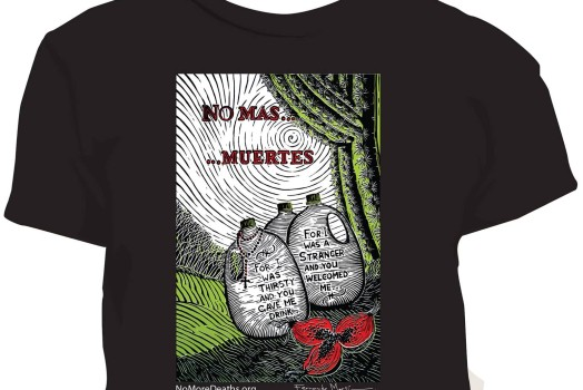 Fernando's No More Deaths/No Mas Muertes t-shirts!