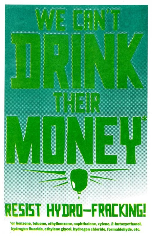 We Can't Drink Their Money*