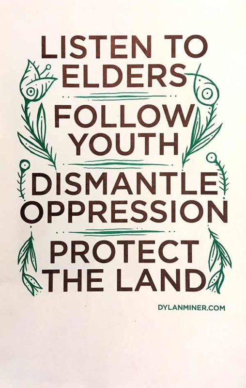 Listen Follow Dismantle Protect