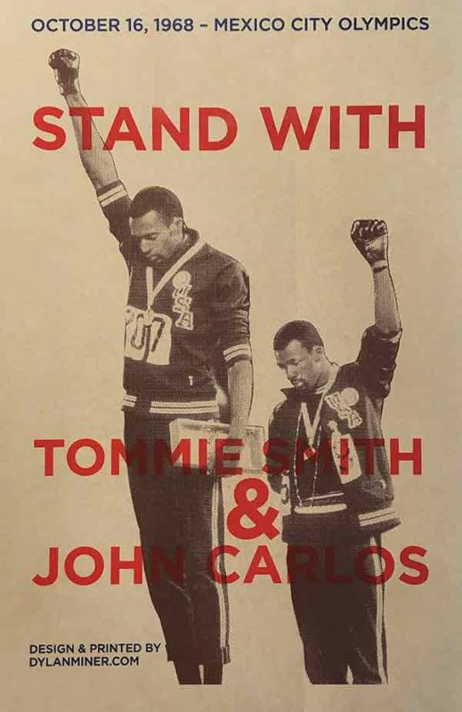 Stand With Tomie Smith & John Carlos
