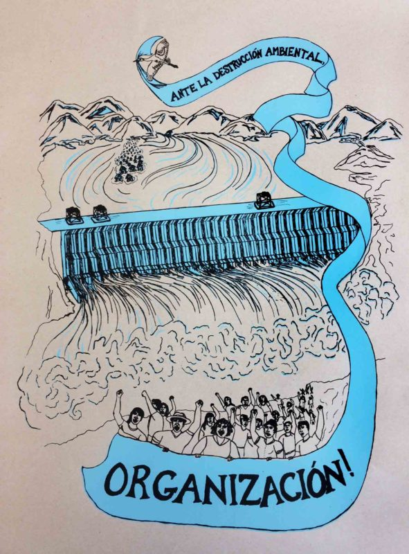 ¡Ante La Destrucción Ambiental, Organización!
