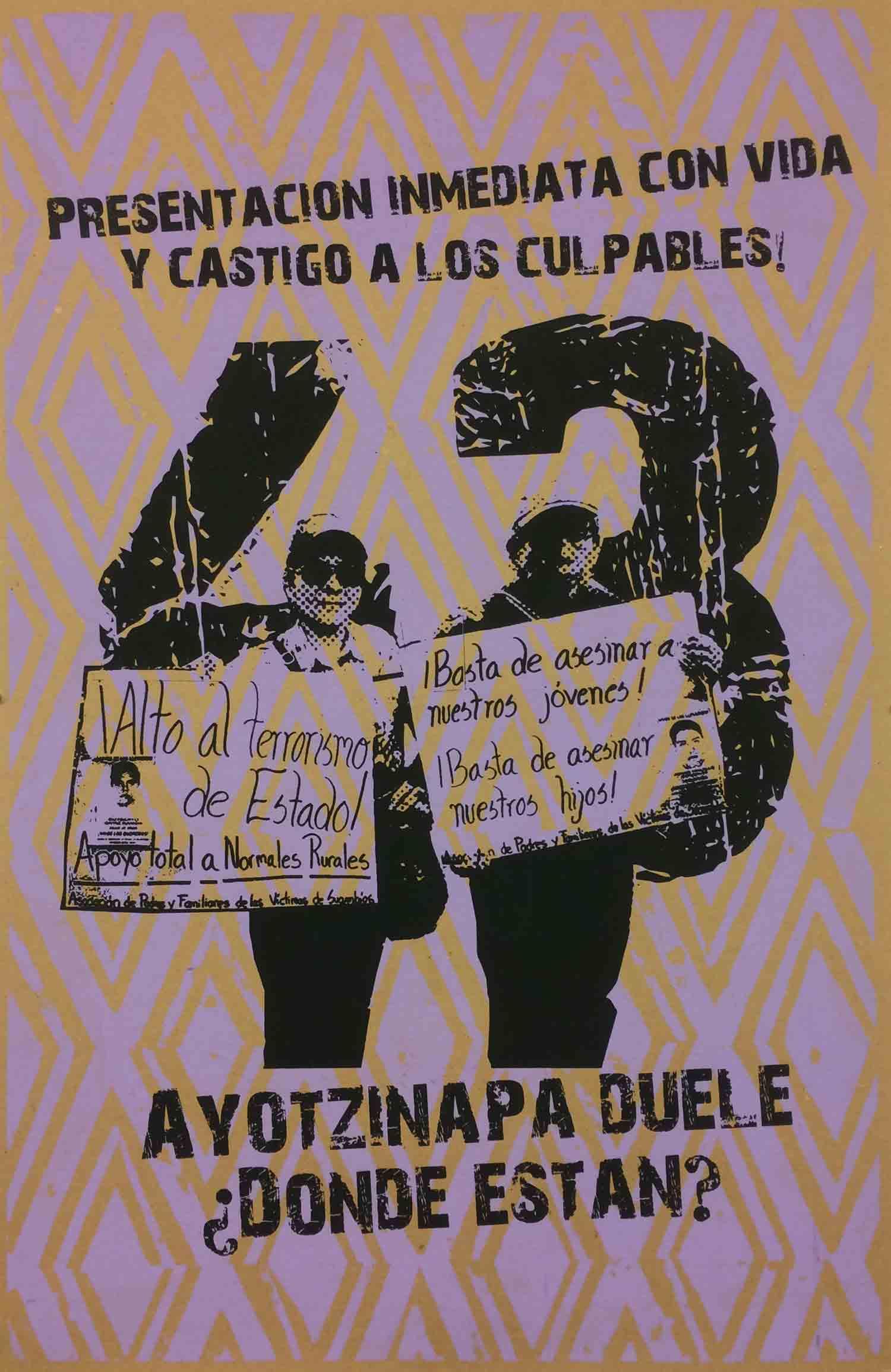 Ayotzinapa en pie de Lucha