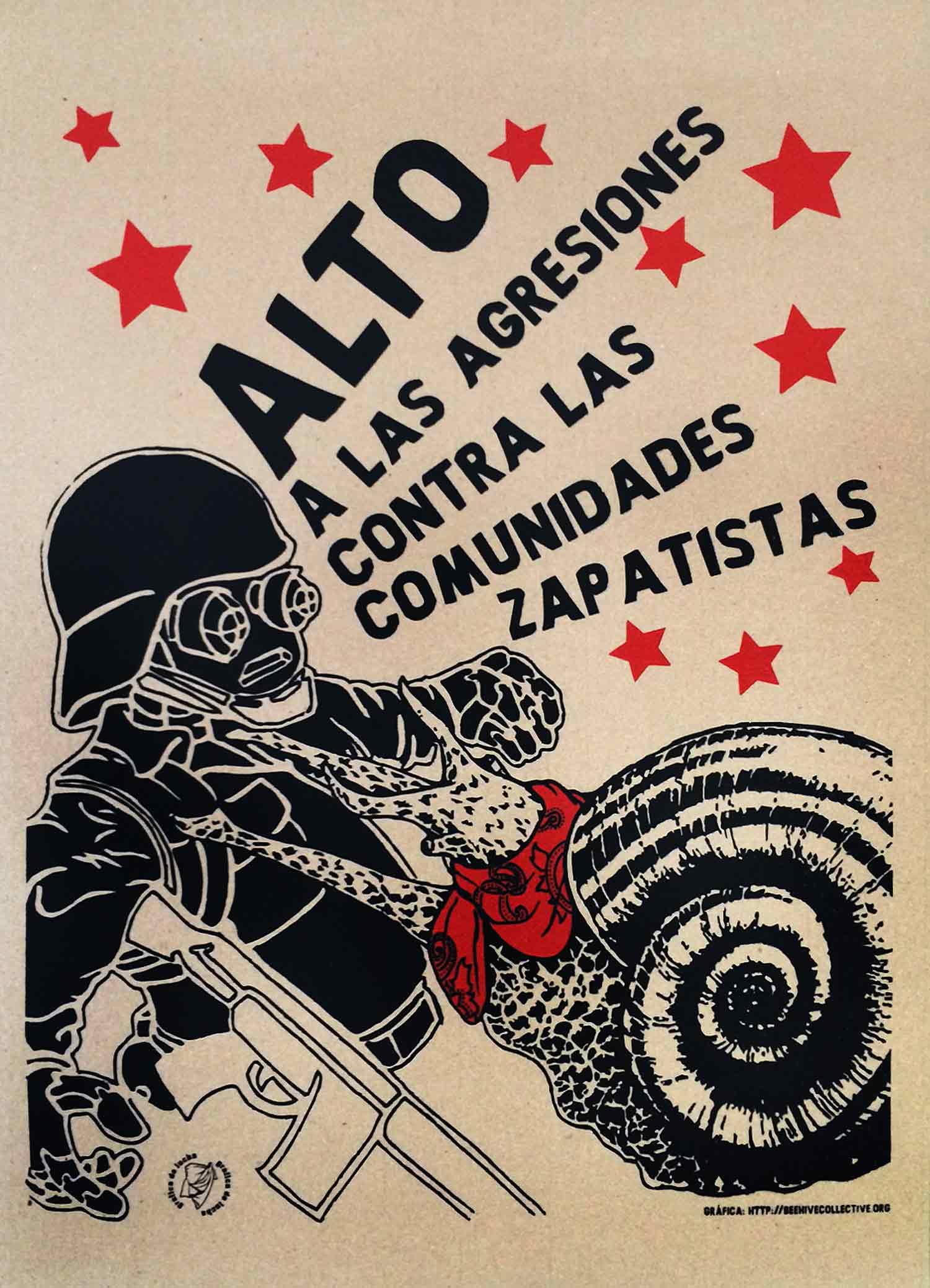 Alto a las Agresiones Contra las Comunidades Zapatistas
