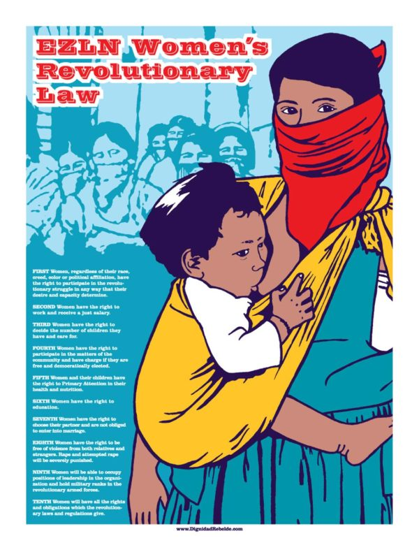 EZLN Women's Revolutionary Laws