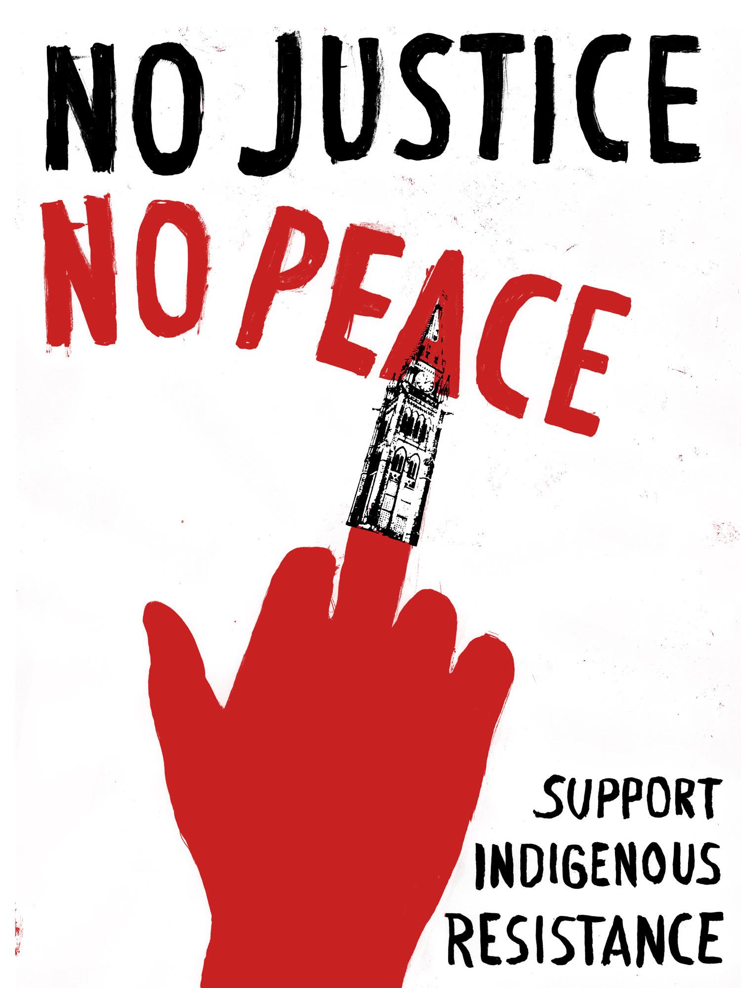 Justseeds | No Justice No Peace