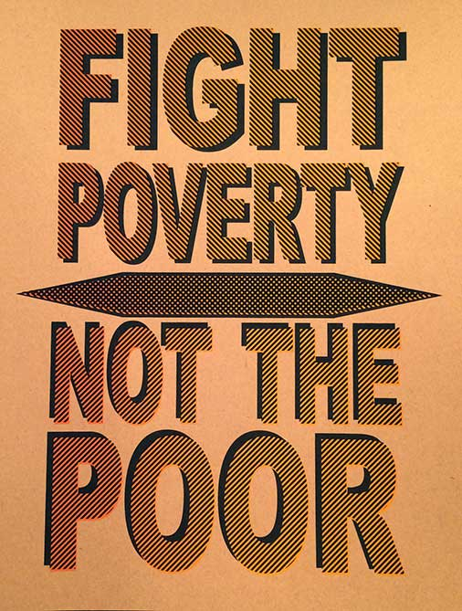 Fight Poverty Not The Poor Remix