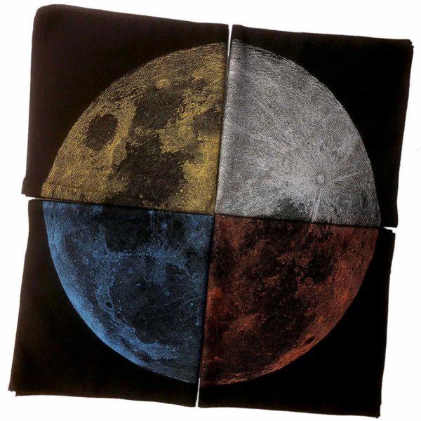 Metallic Moon Hanky