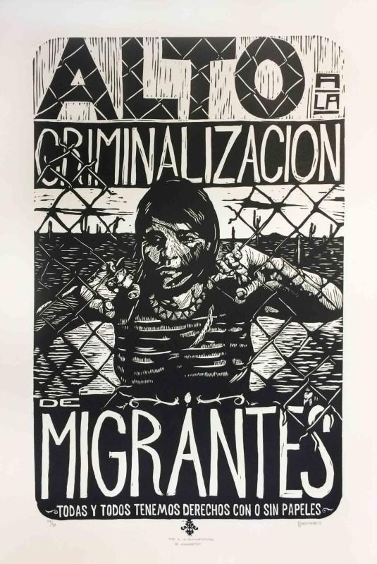 Alto a la Criminalizacion de Migrantes