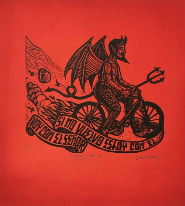 El Diablo Anda en Bicicleta