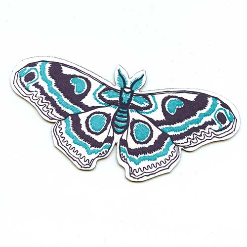 Letterpressed Moth Magnets