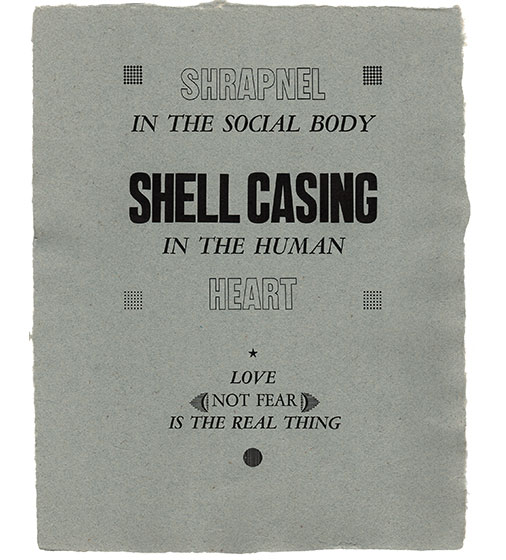 Shell Casing in the Human Heart