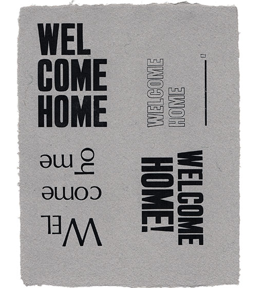 Welcome Home (Four Times)
