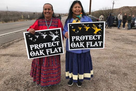 Solidarity with Oak Flat
