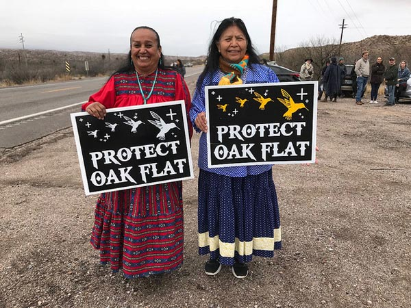 Sacred Land in Arizona Under Threat from Foreign Mining Company