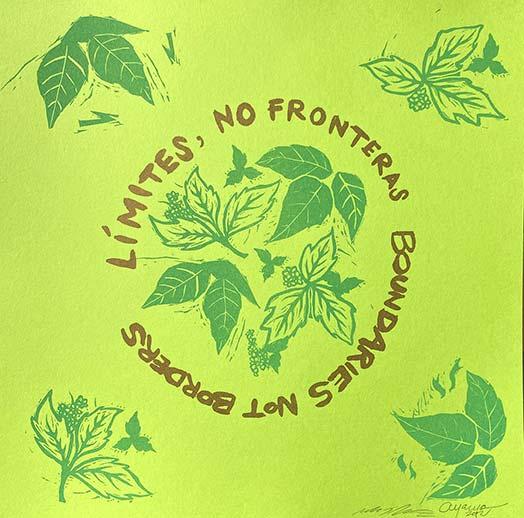 Límites, No Fronteras / Boundaries Not Borders