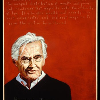 Howard Zinn dies. (1922-2010)