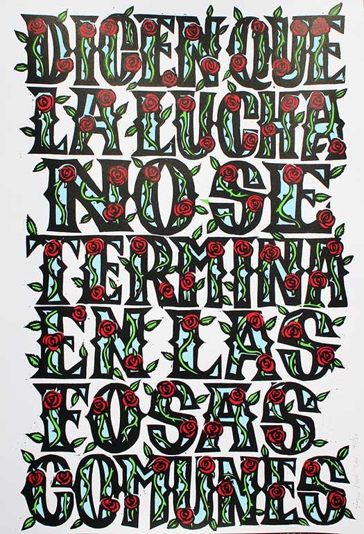 43 Letters (Ayotzinapa)
