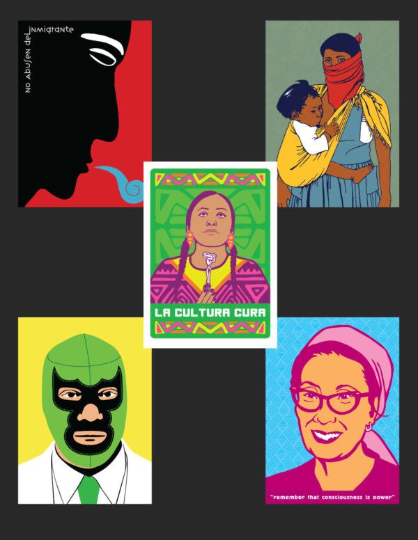 """""""La Cultura Cura"""" Postcard Set"""