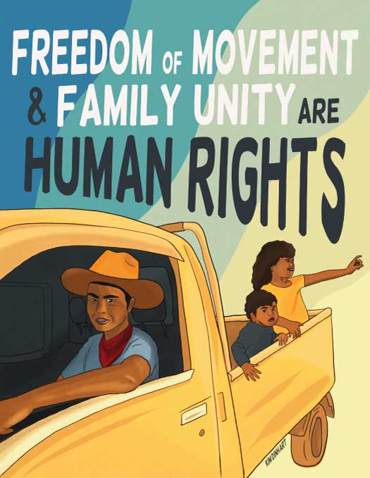 Freedom of Movement and Family Unity are Human Rights