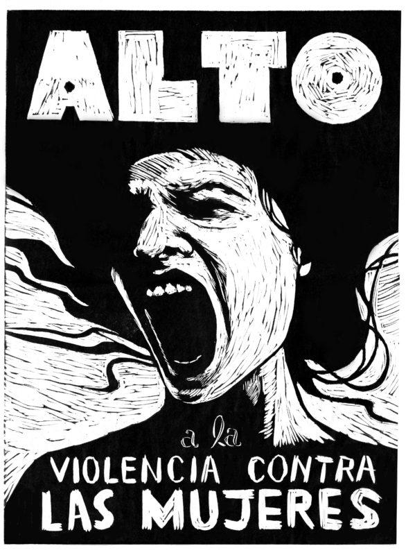 Alto a la violencia contra las mujeres //Stop the violence against women