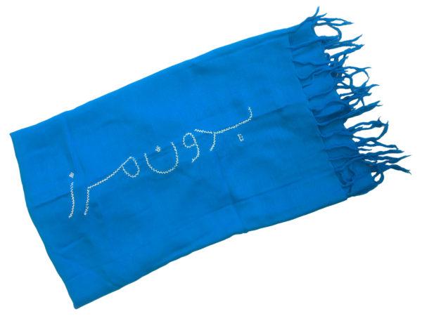 Borderfree Blue Scarf