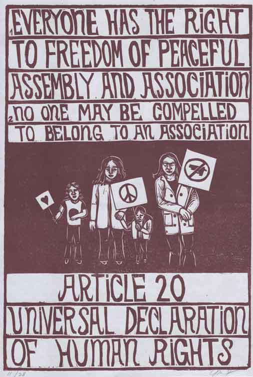 Article 20 UDHR
