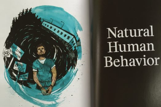 Illustrations in new issue of the Baffler
