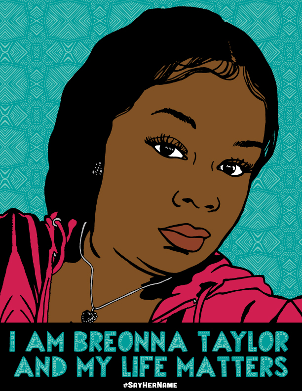Justseeds Breonna Taylor