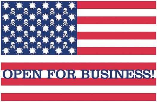 Trump COVID-19 Flag