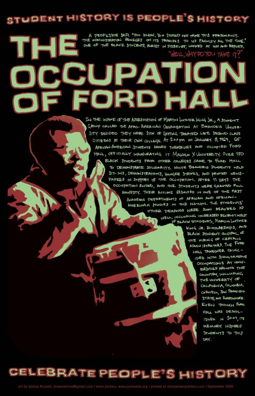 Occupation of Ford Hall