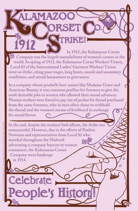 Kalamazoo Corset Co. Strike!