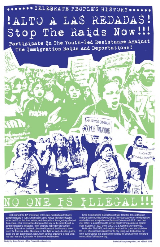 Youth Resistance to Immigration Raids
