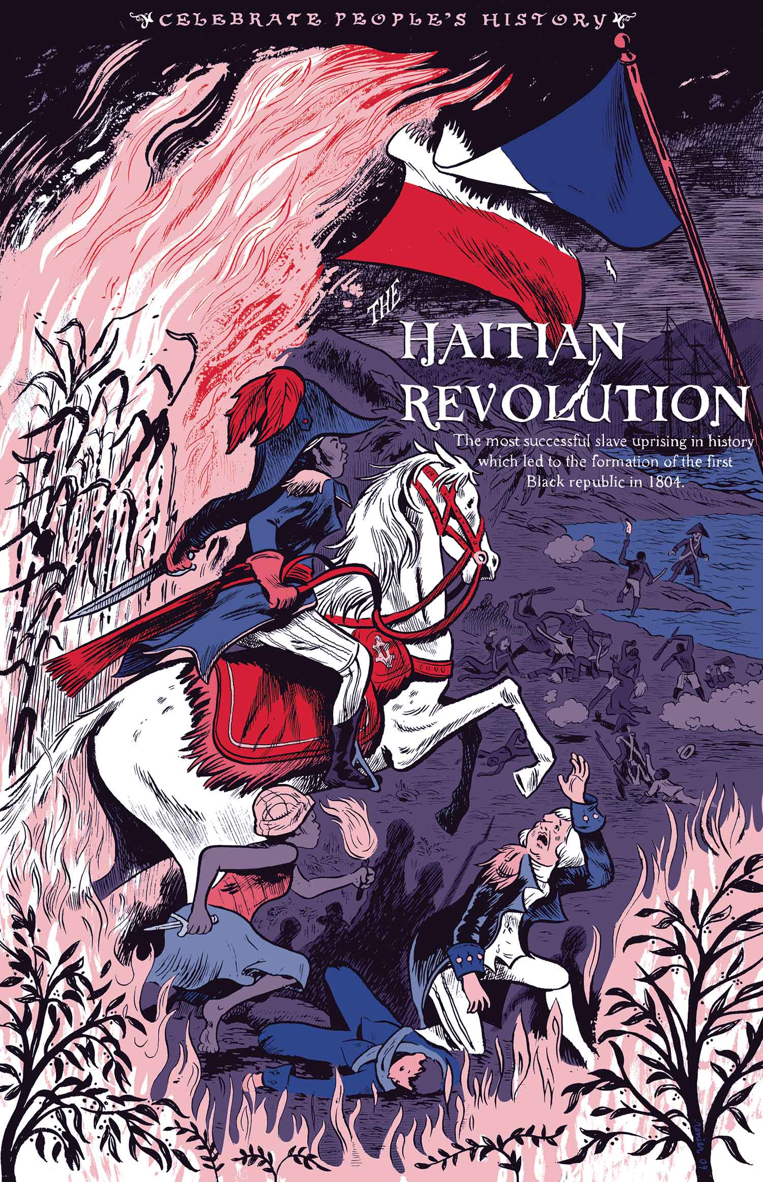 hatian revolution Throughout history, revolutions have started because of new ideas that change  thinking and disrupt the status quo the haitian revolution of 1789-1804 is no.