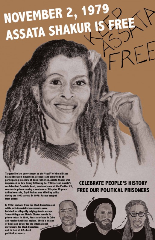 Assata Shakur is Free