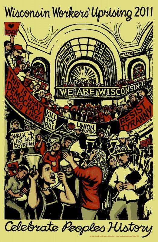 Wisconsin Workers' Uprising