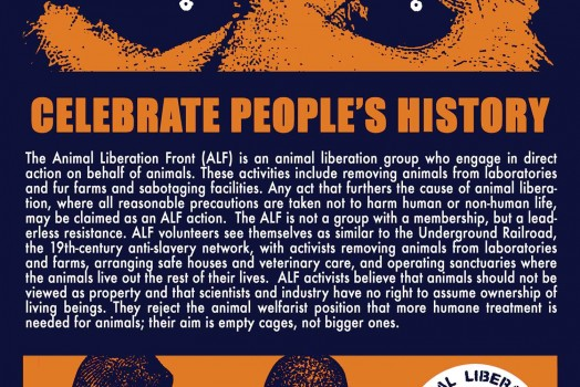 Celebrate People's History 7: Animal Liberation Front