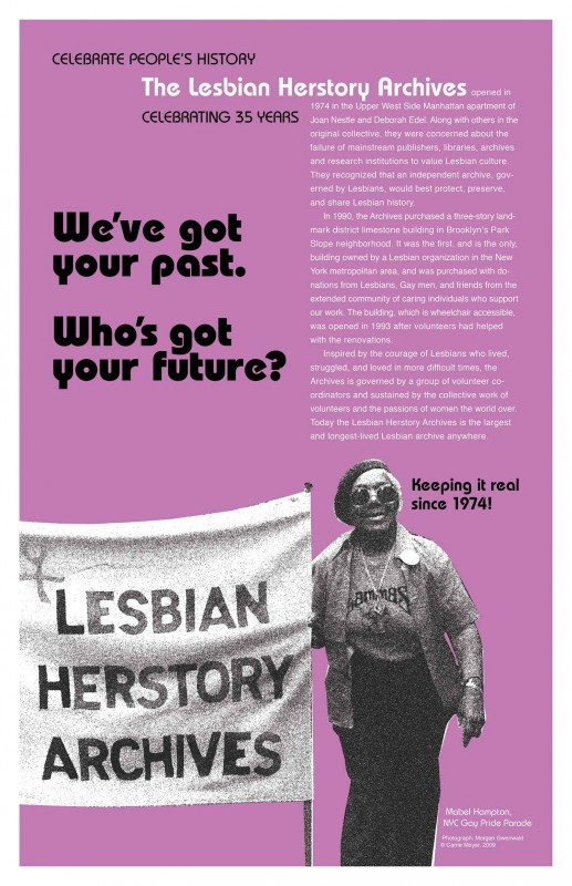 The Lesbian Herstory Archives