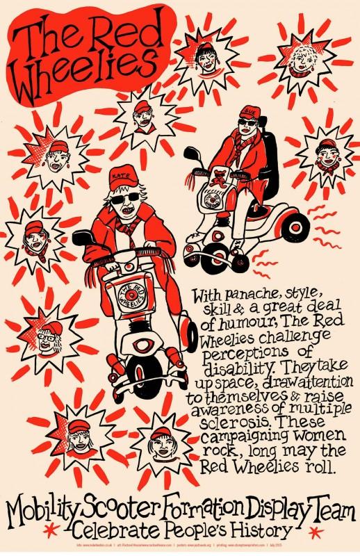 Red Wheelies