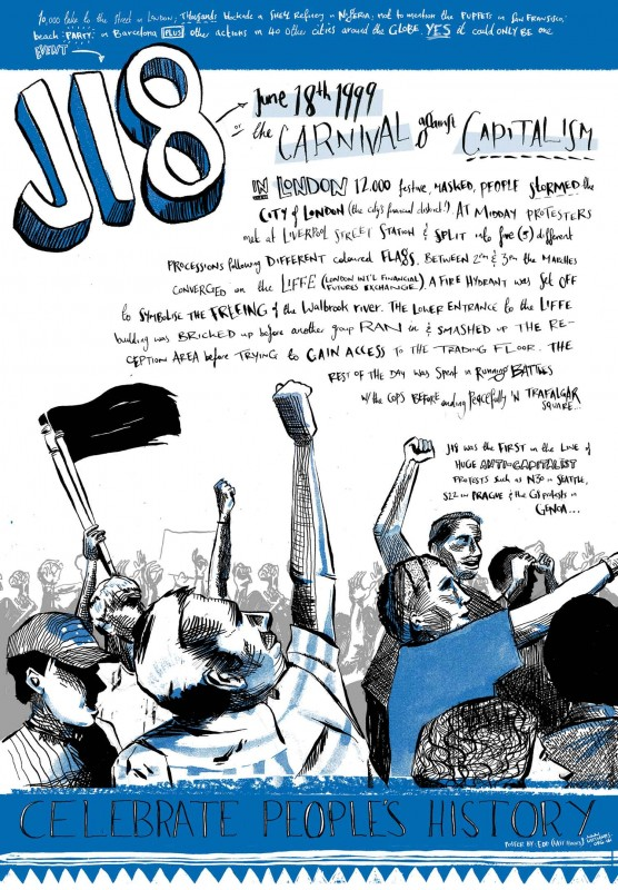 J18, or the Carnival Against Capitalism